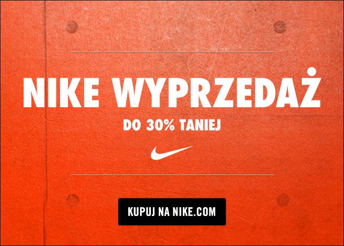 Wyprzedaż sezonowa w Nike– aż do -30% rabatu + zwiększony cashback!