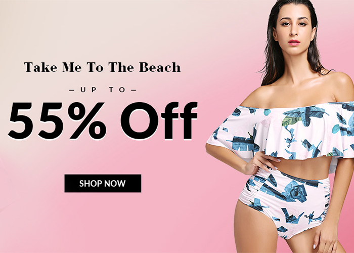 Weź mnie na plażę! Aż -55% taniej na stroje kąpielowe!