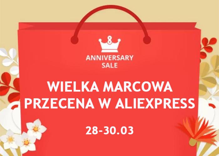 AliExpress obchodzi 7 urodziny! Świętuj urodzinowe wyprzedaże do 30.03