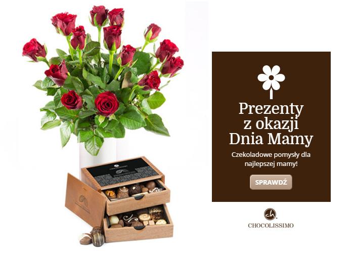 15% rabatu na kategorię Kwiaty i czekoladki. Odbierz kod rabatowy.