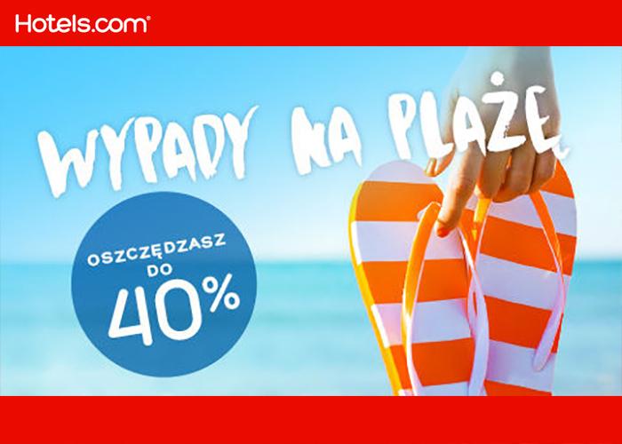 Doskonałe oferty hoteli na wycieczki na plażę! Oszczędzasz do 40%.