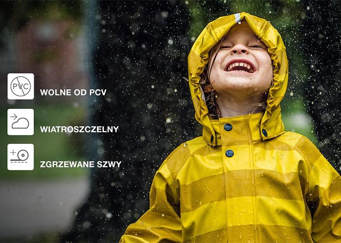 Ciesz się deszczem bezpiecznie! Odkryj nową jesienną kolekcję dla dzieci!