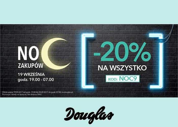 Noc Zakupów 19 września godz 19:00-07:00. -20% na wszystko!