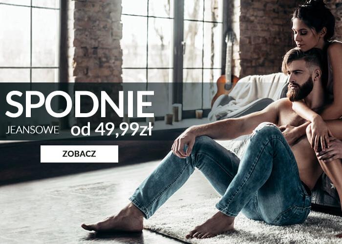 Spodnie jeansowe od 49,99 zł. Wygodne, praktyczne i niebywale uniwersalne.