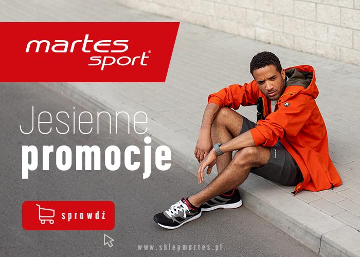Pobiegnij po inspiracje na aktywną jesień w sklepie Martes Sport!