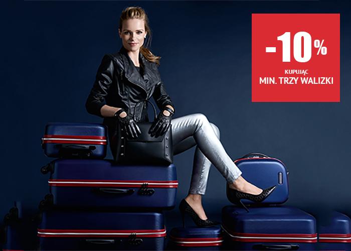 Dodatkowe rabaty na walizki do -10% w WITTCHEN