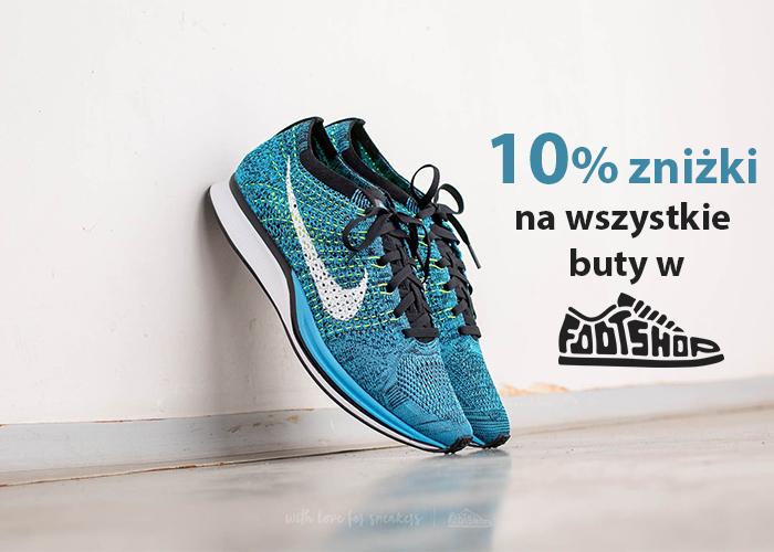 Odbierz kod! 10% zniżki na WSZYSTKIE buty w sklepie Footshop.pl