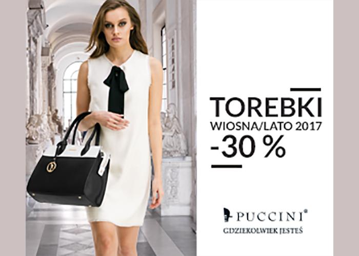 Tylko teraz najnowsza kolekcja torebek Puccini wiosna/lato 2017 -30% taniej!