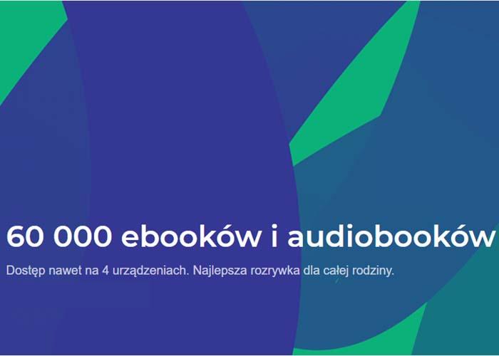 Tysiące ebooków i audiobooków!