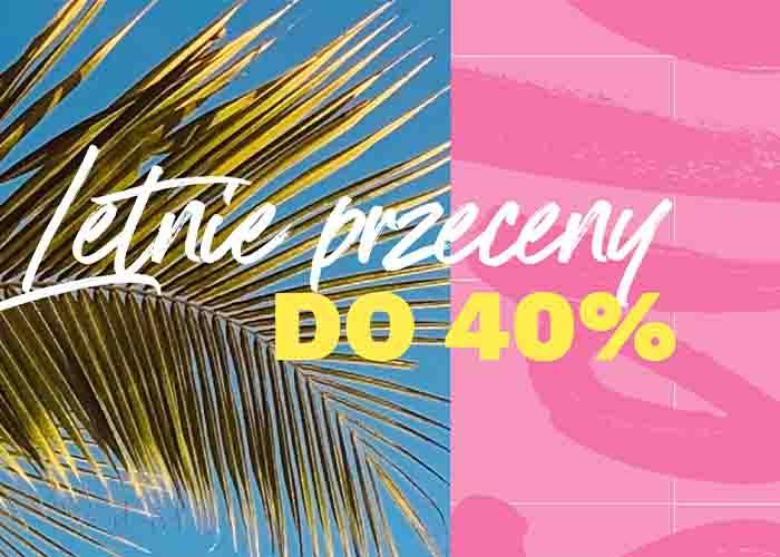 Ciesz się zniżkami do 40% na największe hity ze świata Beauty!