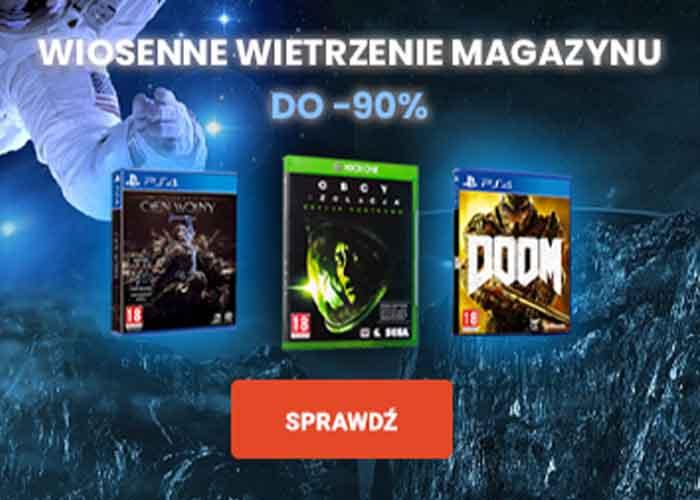 Do -90% na gry video!