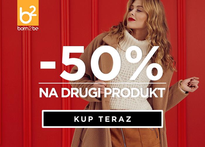 Rabat -50% na drugi produkt!
