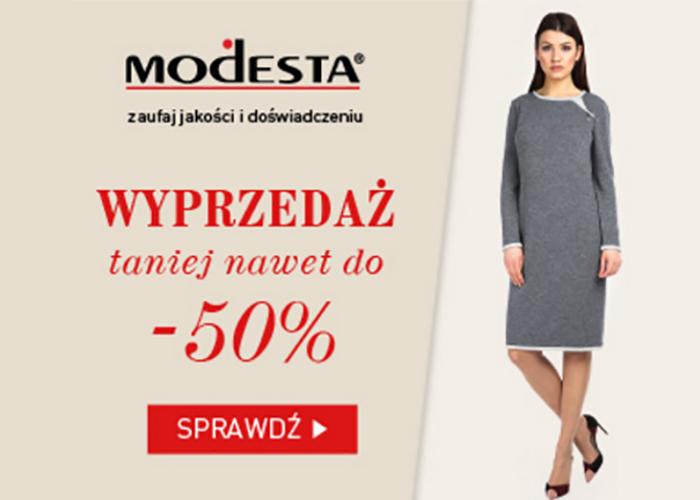 Zaufaj jakości i doświadczeniu marki Modesta!
