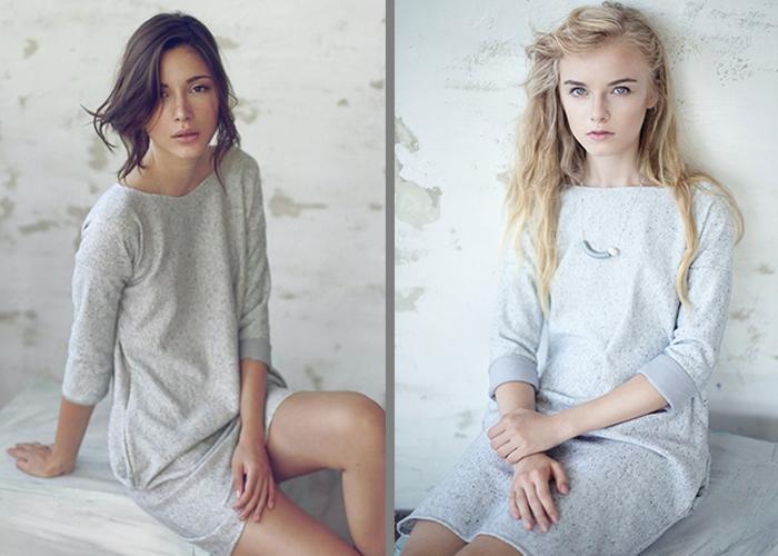Miękka, ciepła i delikatnie podkreślająca kobiece kształty. Odkryj sukienkę Cendre.