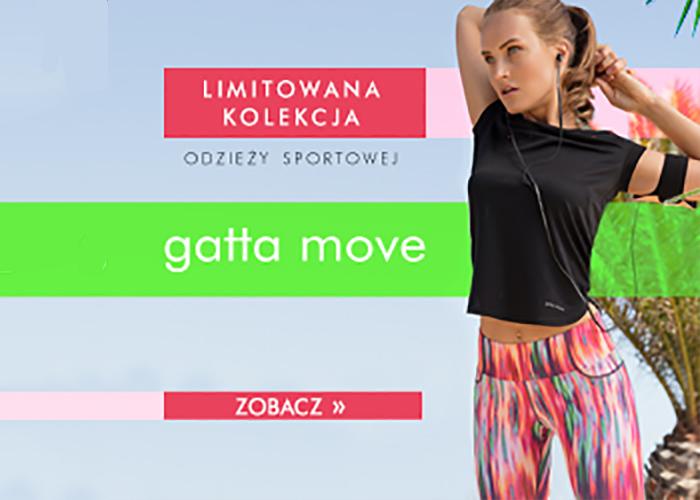 Odkryj limitowaną kolekcję odzieży sportowej Gatta Move już dziś!