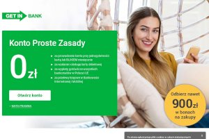 GET IN Bank - Konto Proste Zasady