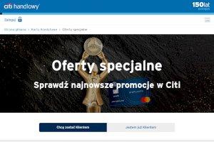Citi Handlowy - Karta kredytowa z rabatami do 1200zł