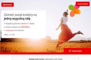 Santander -  Kredyt konsolidacyjny