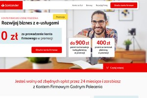 Santander -  Konto Firmowe Godne Polecenia