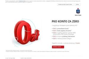 PKO Konto za Zero