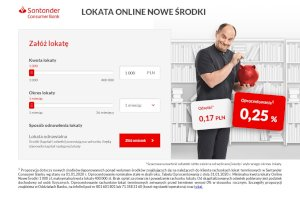 Santander - lokata online