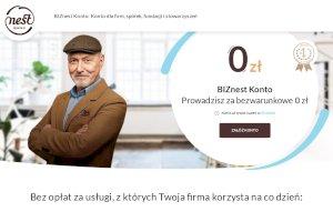 BIZnest Konto dla firm z terminalem za 0zł